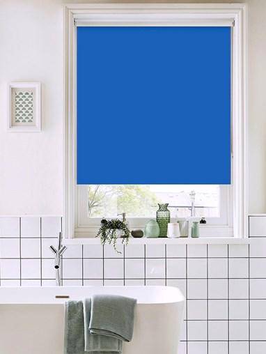 Larkspur Bathroom Roller Blind