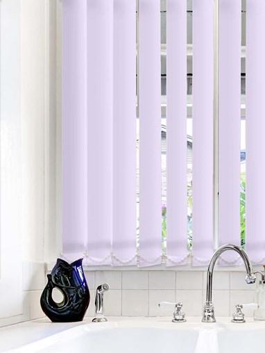 Lilac Waterproof 89mm Vertical Blind