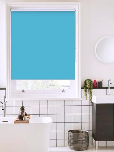 Lobelia Bathroom Roller Blind