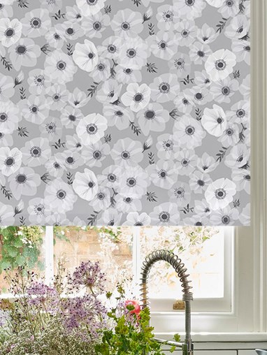 Posy Stone Roller Blind by Lorna Syson