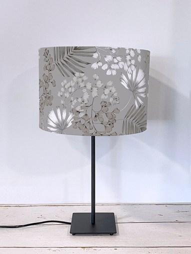 Maidenhair Grey Lampshade