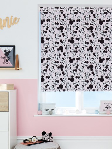 Disney Minnie Mouse Oh Hello! Blackout Roller Blind