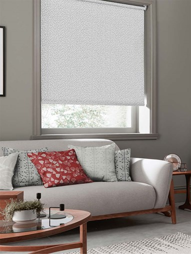 Woven Chimes Flint Roller Blind By Miss Print