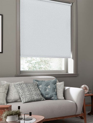 Woven Chimes Cirrus Roller Blind By Miss Print