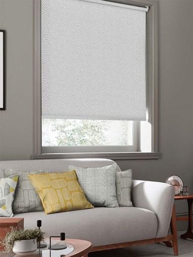 Woven Mono Flint Roller Blind By Miss Print
