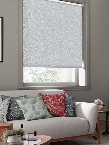 Chimes Blizzard Roller Blind By Miss Print