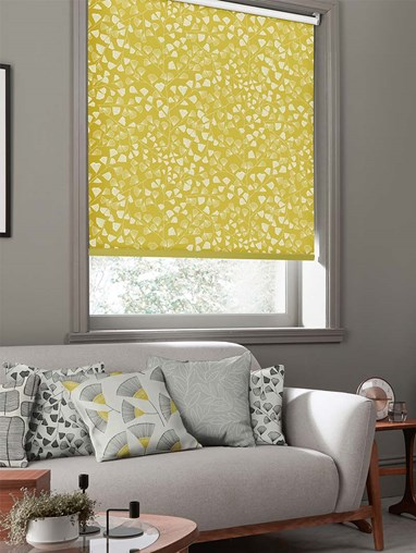 Fern Citrus Roller Blind By Miss Print