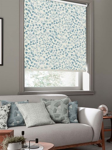 Fern Lighthouse Roller Blind By Miss Print