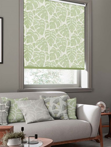 Guatamala Olive Roller Blind By Miss Print