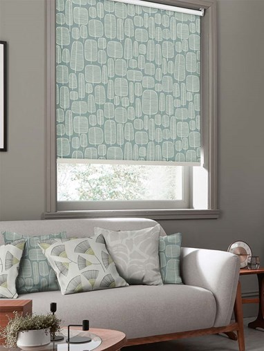 Little Trees Comet Roller Blind By Miss Print