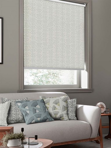 Muscat Small Moonstone Roller Blind By Miss Print