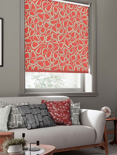 Pebbles Ladybird Roller Blind By Miss Print