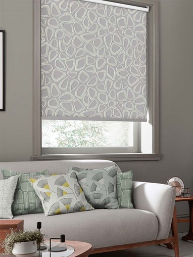 Pebbles Pumice Roller Blind By Miss Print