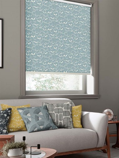 Saplings Ether Roller Blind By Miss Print