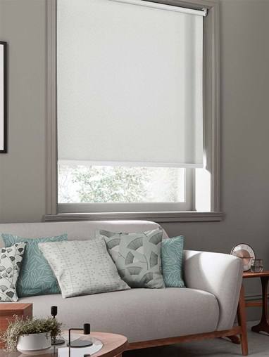 Sheer Chimes Mist Roller Blind By Miss Print