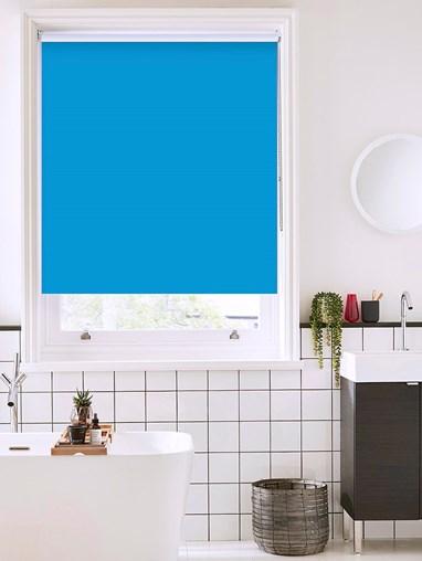 Morning Tide Bathroom Roller Blind