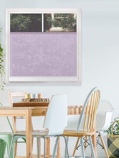 Cotton Lilac 4665E Bottom Up Blind