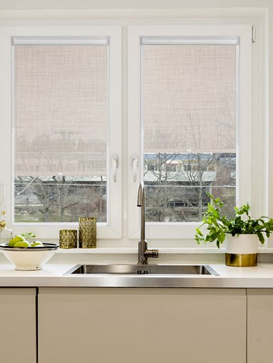 Oatmeal Weave 5% Sunscreen Perfect Fit Roller Blind
