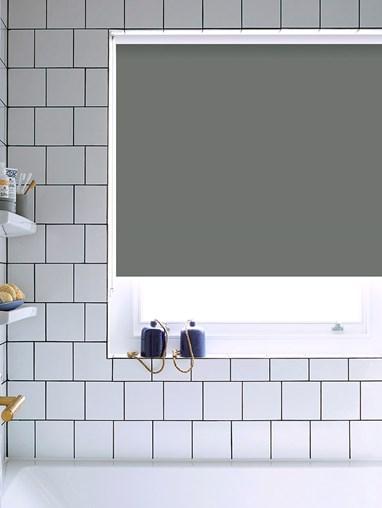 Paving Grey Bathroom Roller Blind