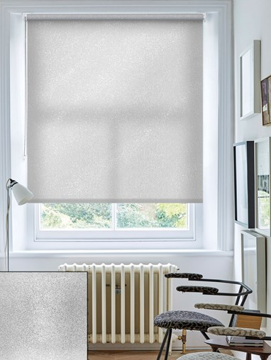 Pearl Silver Daylight Roller Blind