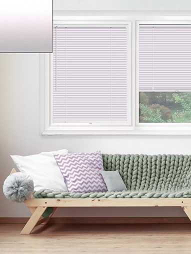 Matte Ice Pink 25mm Perfect Fit Venetian Blind