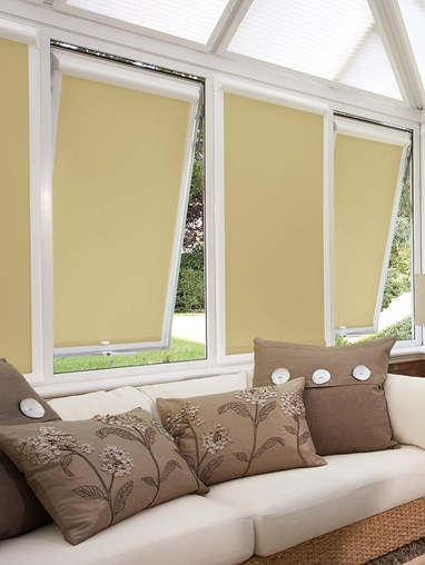 Blackout Hemp Seed Perfect Fit Roller Blind