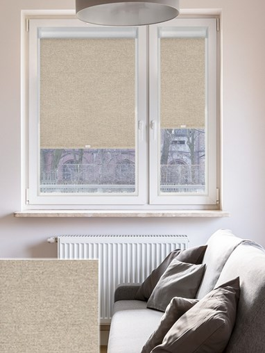 Blackout Urban Grey Perfect Fit Roller Blind