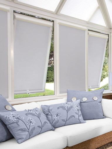 Blackout Magnetic Grey Perfect Fit Roller Blind