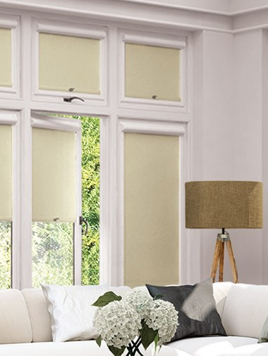 Blackout Stone Grey Perfect Fit Roller Blind