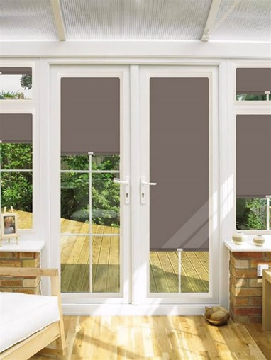 Blackout Vestry Perfect Fit Roller Blind for Doors