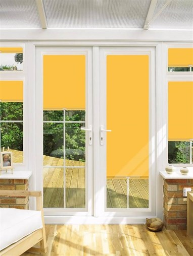 Blackout Yellowstone Perfect Fit Roller Blind for Doors