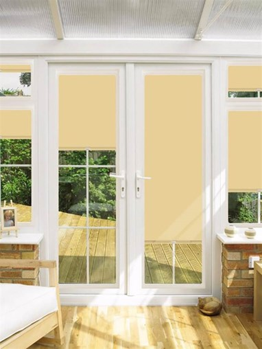 Blackout Sahara Perfect Fit Roller Blind for Doors