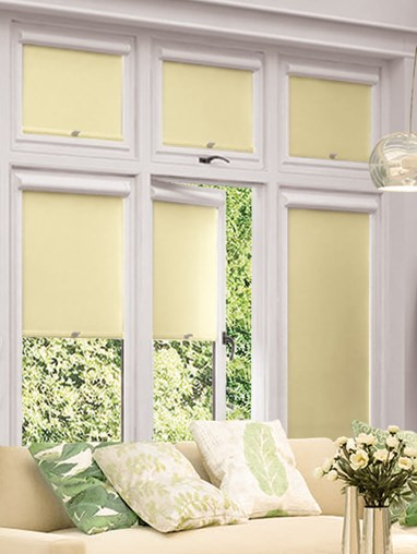 Blackout Cream Perfect Fit Roller Blind
