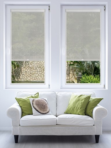 Pewter 3% Sunscreen Perfect Fit Roller Blind