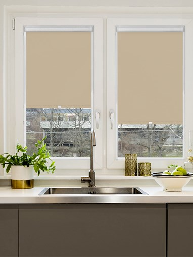 Dim Out Sparrow Perfect Fit Roller Blind