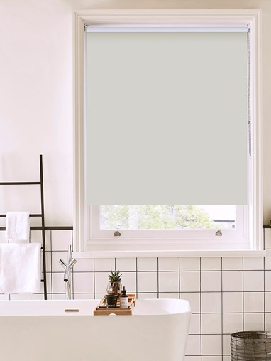 Raindrop Bathroom Roller Blind