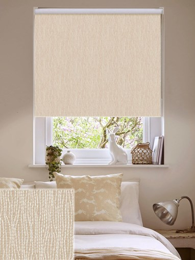 Nero Sand Blackout Ready Made Roller Blind