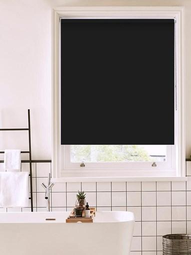 Crow Bathroom Roller Blind