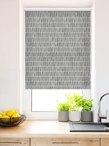 Library Daylight Cordless Spring Loaded Roller Blind