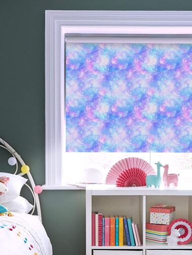 Cosmos Blackout Cordless Spring Loaded Roller Blind