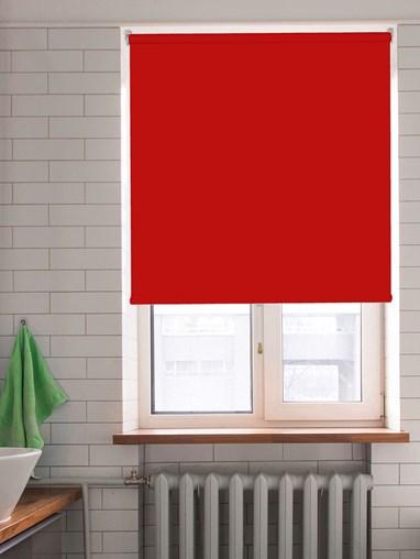Crimson Blackout Cordless Spring Loaded Roller Blind