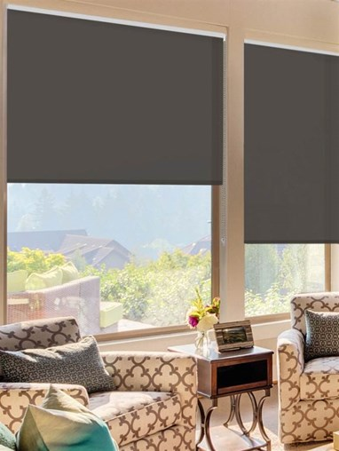 Soot Extra Large Roller Blind