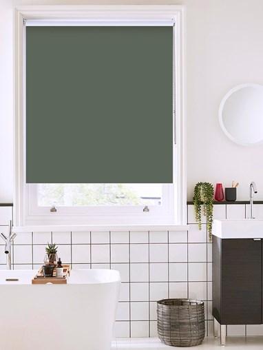 Sardine Grey Bathroom Roller Blind