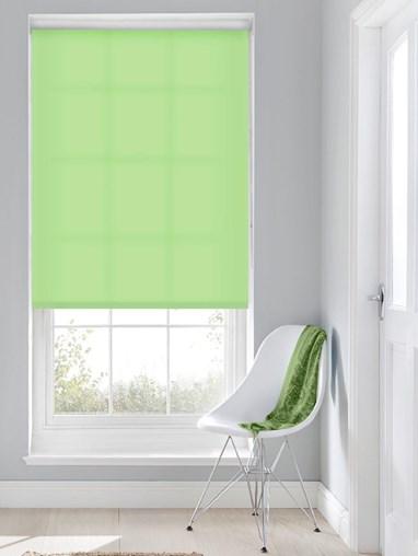 Daylight Stem Green No Drill Roller Blind
