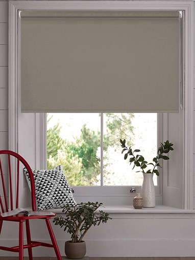 Taupe Blackout Thermal Roller Blind