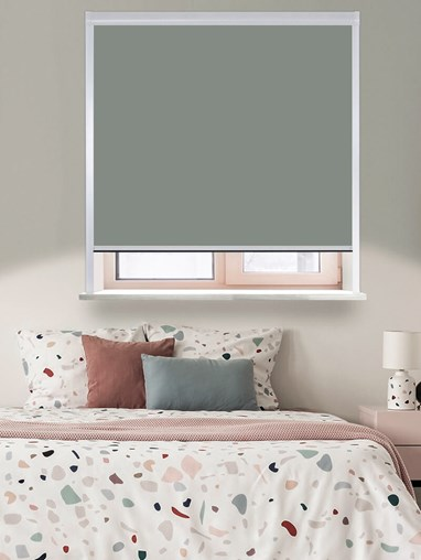 Classic Iron Mountain Total Blackout Roller Blind