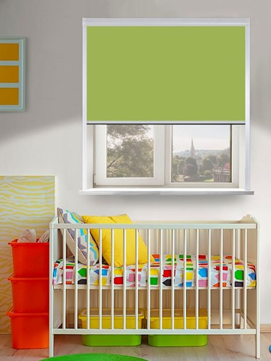 Thermal Plus Lichen Total Blackout Roller Blind