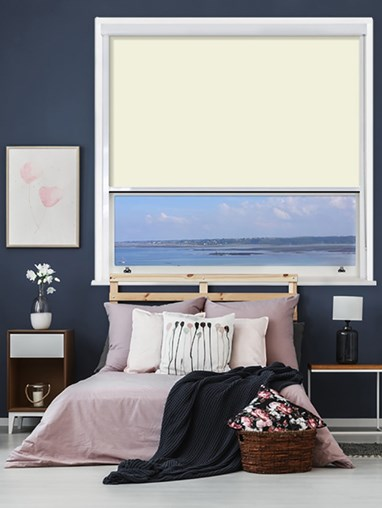 Lambskin Chain Operated Total Blackout Roller Blind | For Extra Large Windows