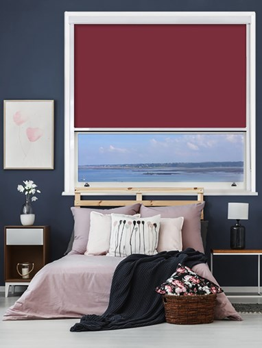 Tarrantino Chain Operated Total Blackout Roller Blind | For Extra Large Windows