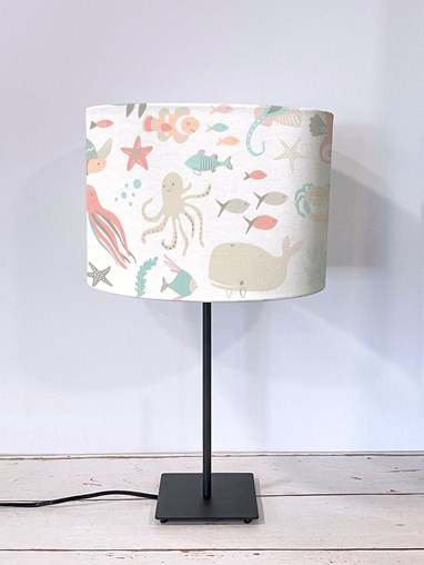 Under The Sea Pastel Lampshade